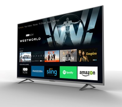 Seiki, Westinghouse Electronics And Element Electronics Introduce The First Line Of 4K Ultra HD Smart TVs With Amazon Fire TV
