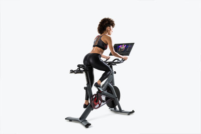 peloton launches its first commercial bike bringing an