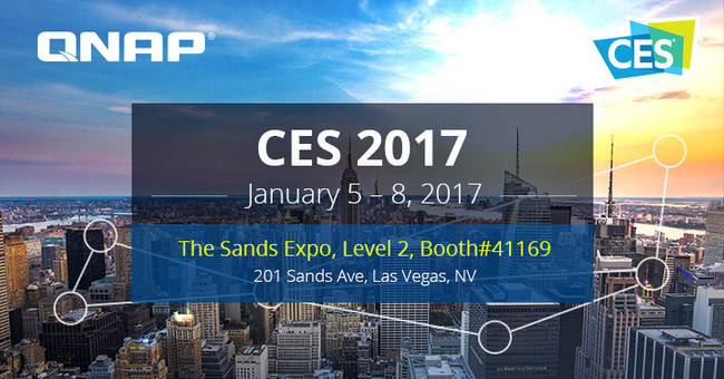Connect with QNAP at CES