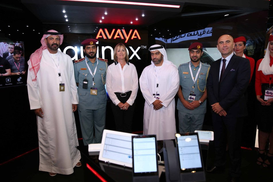 Dubai Civil Defence selects Avaya Equinox to transform its communications capabilities and increase user satisfaction (PRNewsFoto/AVAYA)