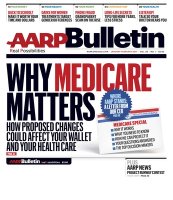 AARP Bulletin Cover January/February Issue