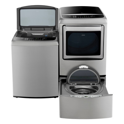 Compatible with every new LG front-load washer, as well as nearly all LG front-load models manufactured since 2009, the LG SideKick can now can be placed underneath the dryer of LG top-load laundry pairs featuring LG's unique front control panel - expanding availability of the time-saving innovation to consumers who prefer a top-load washer.