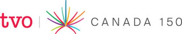 TVO's Canada 150 logo, horizontal (CNW Group/TVO)