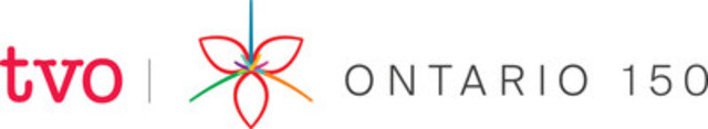 TVO's Ontario 150 logo, horizontal (CNW Group/TVO)