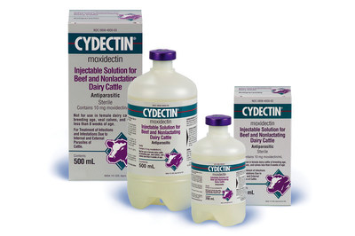 CYDECTIN injectable products