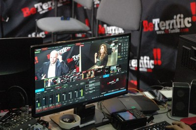 LiveU powers BeTerrific Booth at CES 2017 with solutions for Facebook Live and live remote studio broadcasts.