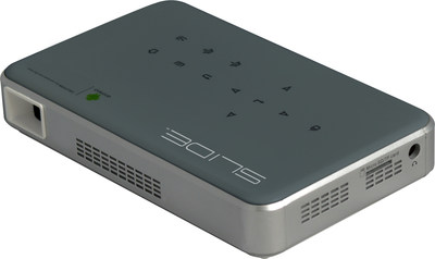 SLIDE will debut three projectors at CES 2017 that produce smoother video with less pixilation than projectors using other digital technologies.