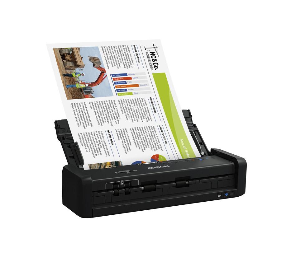 Epson WorkForce ES-300W Portable Duplex Document Scanner