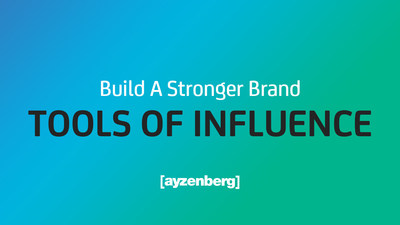 Ayzenberg Group Launches Tools Of Influence, Harnessing Power Of AI And Machine Learning For Brands
