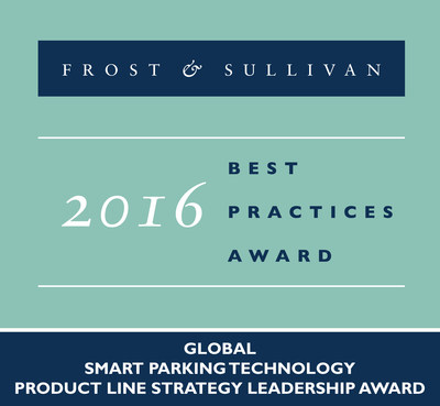 Frost & Sullivan recognizes Streetline with the 2016 Global Product Line Strategy Leadership Award.