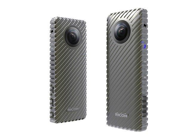 Ricoh today announced the industry's first camera capable of delivering up to 24 continuous hours of fully spherical, 360-degree live video streams.