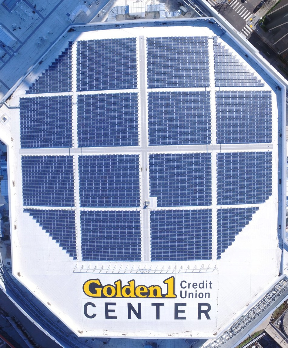 SunSystem Technology completed installation of Golden 1 Center's 700 kW rooftop solar system in August, and are now responsible for the system's ongoing operations and maintenance.