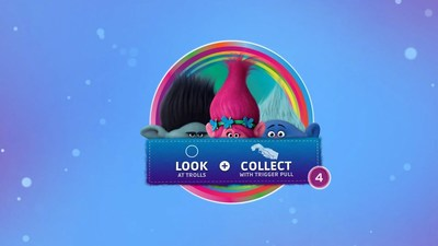 As part of the partnership with DreamWorks Animation, Honda Dream Drive also includes an interactive game featuring content from the animated feature Trolls.