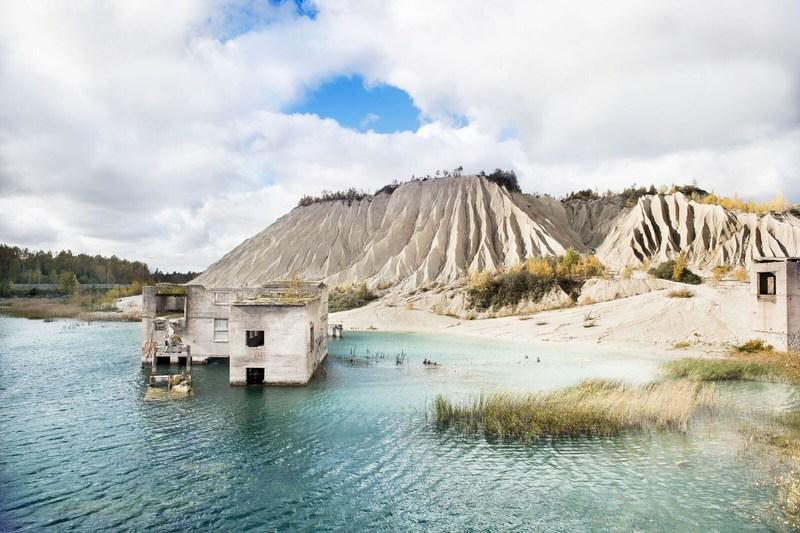 Rummu quarry, Estonia (PRNewsFoto/Music Goes Further)