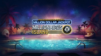 Millionaires Island: PokerStars Casino's new and exclusive $1m Mega Progressive Jackpot slot game (PRNewsFoto/PokerStars Casino)