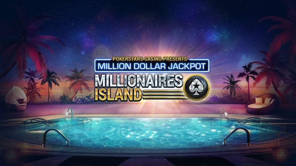 Millionaires Island: PokerStars Casino's new and exclusive $1m Mega Progressive Jackpot slot game (PRNewsFoto/PokerStars Casino)