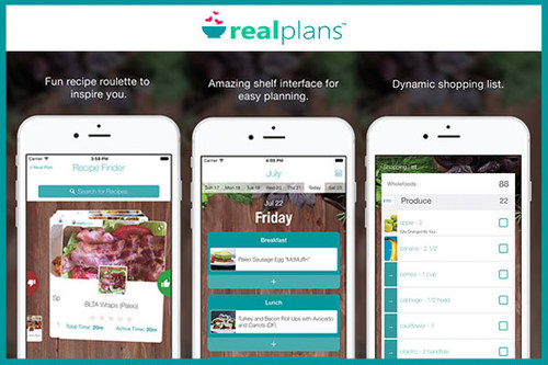 Support New Year's resolutions with a custom meal plan. Real Plans' mobile app and software creates unique, adjustable weekly menus. Customer support is available via chat 24/7.