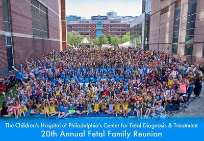 Last June, Children's Hospital of Philadelphia Celebrated the 20th Annual Fetal Family Reunion. The event brought together a unique community of families who have shared similar struggles. Nearly all of the children in attendance were prenatally diagnosed with a birth defect that had potentially devastating outcomes. Babies diagnosed with these birth defects before birth either underwent fetal surgery to treat the condition or received highly complex care immediately after birth.