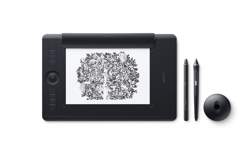 The new Wacom Intuos Pro Paper Edition: The pen tablet that works the way you do.