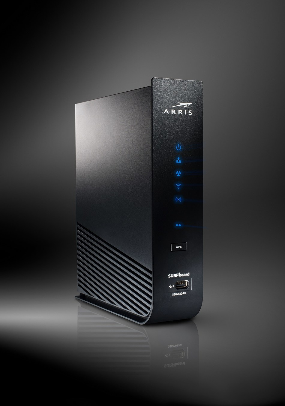 The ARRIS SURFboard SBG7580-AC will be the first device to embed the McAfee Secure Home Platform.