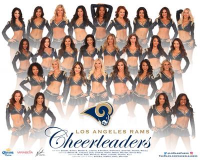 Photo Credit: Los Angeles Rams Cheerleaders