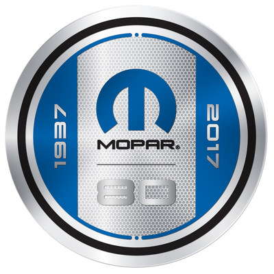 "The Mopar brand, born on August 1, 1937, as a contraction of the words ""Motor Parts,"" celebrates 80 years in 2017, marking an amazing evolution over eight decades. First introduced as the name of a line of antifreeze products, the Mopar brand has since transformed to encompass total service, parts and customer care for FCA vehicle owners around the globe."