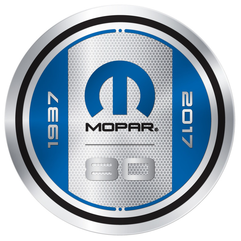"""The Mopar brand, born on August 1, 1937, as a contraction of the words """"Motor Parts,"""" celebrates 80 years in 2017, marking an amazing evolution over eight decades. First introduced as the name of a line of antifreeze products, the Mopar brand has since transformed to encompass total service, parts and customer care for FCA vehicle owners around the globe."""