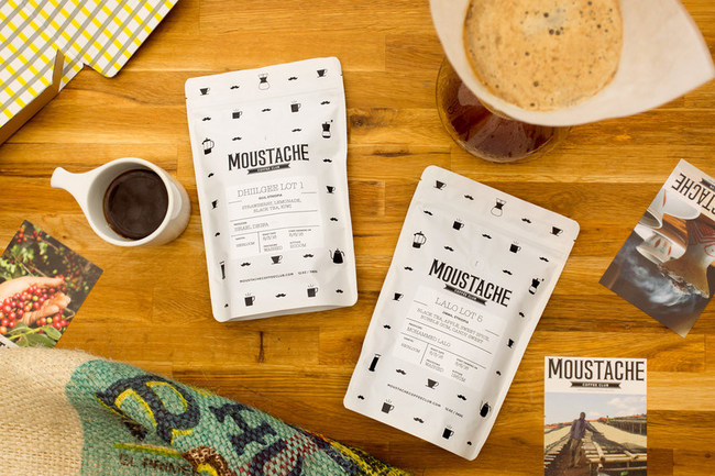 Moustache Coffee Club Single Origin Coffee