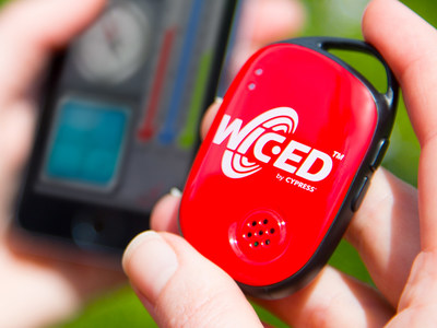 Cypress' WICED development kit for Internet of Things applications.