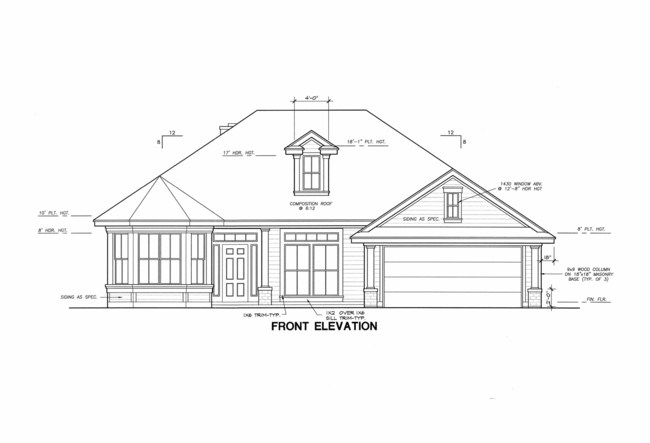 This beautiful 1 story home is offers 2,072sf of living area. Includes 3 bedrooms with an option for a 4th or a Study, 2 full baths, as well as a dining room, living room, family room, breakfast nook, large open kitchen, master suite with bay window, plus many more features.