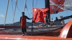 Guo Chuan and His Trimaran the Qingdao China: the Legend Lives On