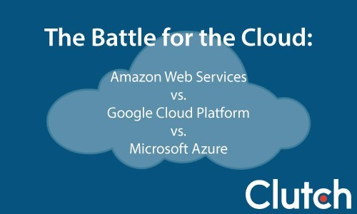 The Battle for the Cloud: Amazon Web Services vs. Google Cloud Platform vs. Microsoft Azure