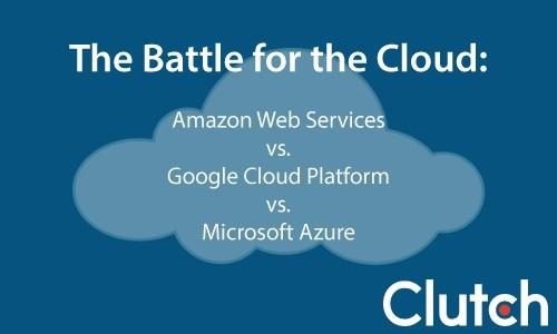 The Battle for the Cloud: Amazon Web Services vs. Google Cloud Platform vs. Microsoft Azure