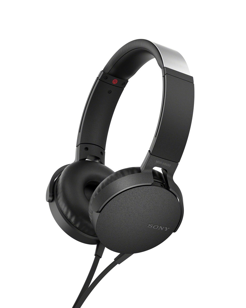 MDR-XB550AP EXTRA BASS Wired On-Ear Headphones