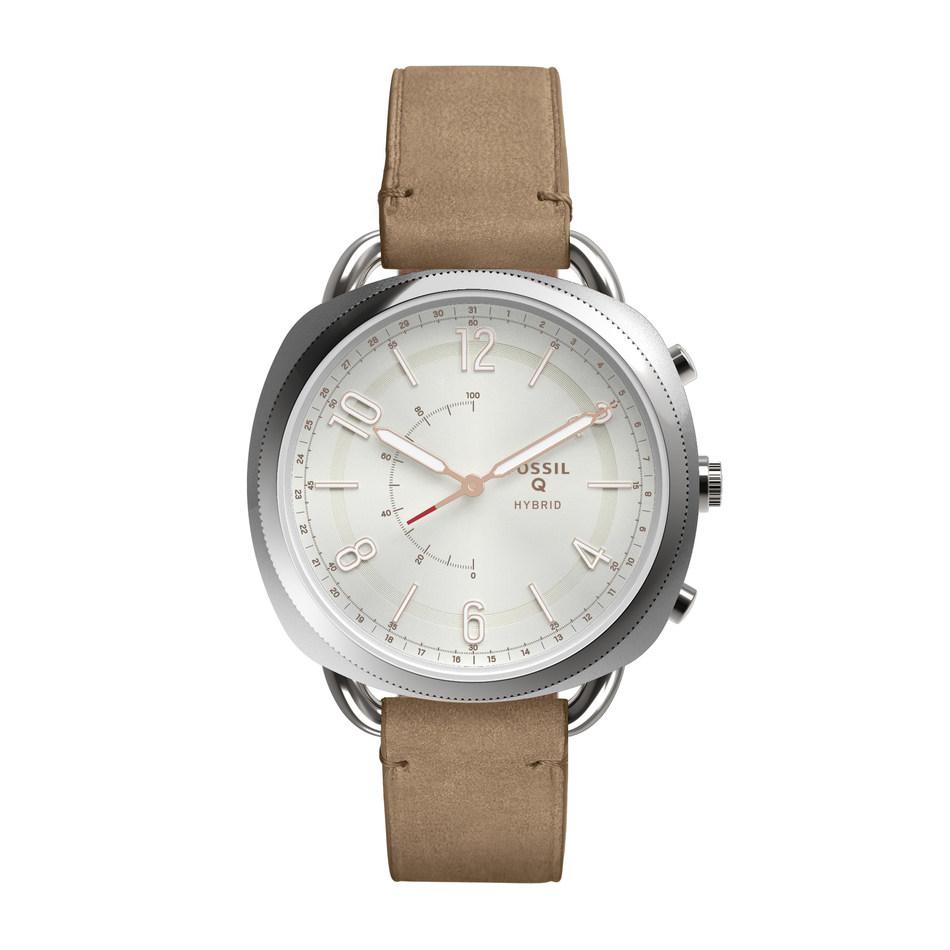 Fossil unveils its newest Q addition slim hybrid smartwatches.