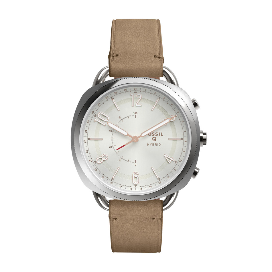 Fossil unveils its newest Q addition slim hybrid smartwatches.