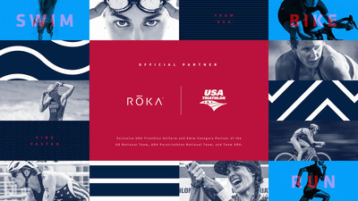 ROKA Sports, Inc. and USA Triathlon today announced a new multi-year partnership that designates the Dallas-based performance multisport brand as the Exclusive USA Triathlon Uniform and Swim Category Partner. This agreement makes ROKA's patented, cutting-edge technologies available to the entire USA Triathlon community -- including Team USA, the top amateur athletes who qualify to represent the U.S. at the International Triathlon Union (ITU) Age Group World Championships.