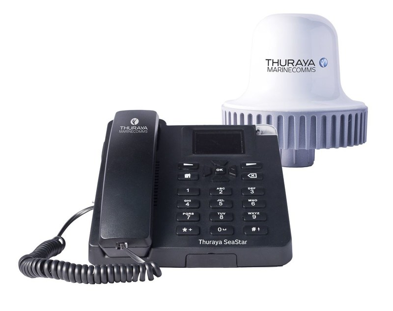 Thuraya SeaStar, the new circuit switched voice terminal that brings full and affordable accessibility to maritime communications. (PRNewsFoto/Thuraya Telecommunications)