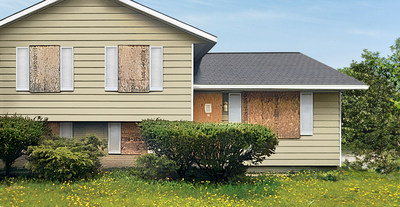 Community Blight Solutions - Property before clearboarding
