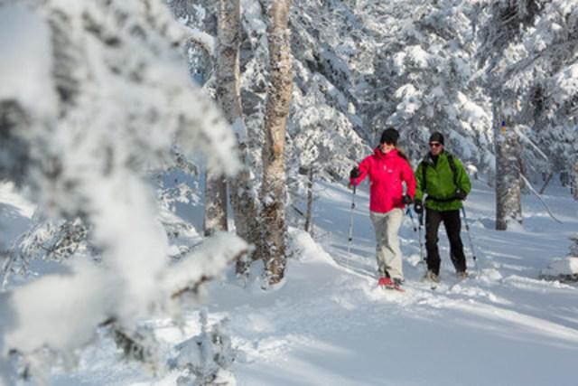 Parc national de la Gaspésie (Groupe CNW/Société des établissements de plein air du Québec)