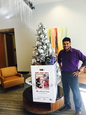 Evantage, Inc., a premier sales and marketing firm, recently held a toy drive to benefit Toys for Tots.