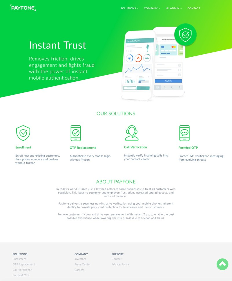 Payfone - Instant Trust