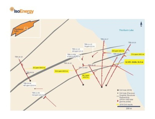 Figure 1 – Thorburn Lake Planview (CNW Group/IsoEnergy Ltd.)
