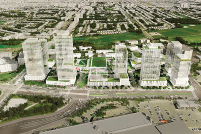 Future Vision of Golden Mile Shopping Centre - 1880 Eglinton Ave. E. Toronto, Ontario (CNW Group/Choice Properties Real Estate Investment Trust)