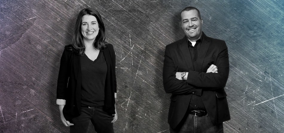 Co-Founders, Amy LaGrant and Matt Brown