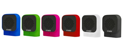 Coby Core Introduces All Weather Mini Mojo Bluetooth Speaker Series at CES 2017