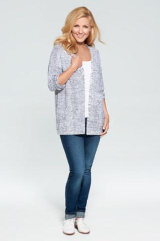 Première Collection Véro 2017! Tricots de Véro est actuellement disponible en tailles régulières et en tailles courbes dans la plupart des magasins AUBAINERIE du Québec et en ligne sur aubainerie.com (Groupe CNW/Aubainerie)
