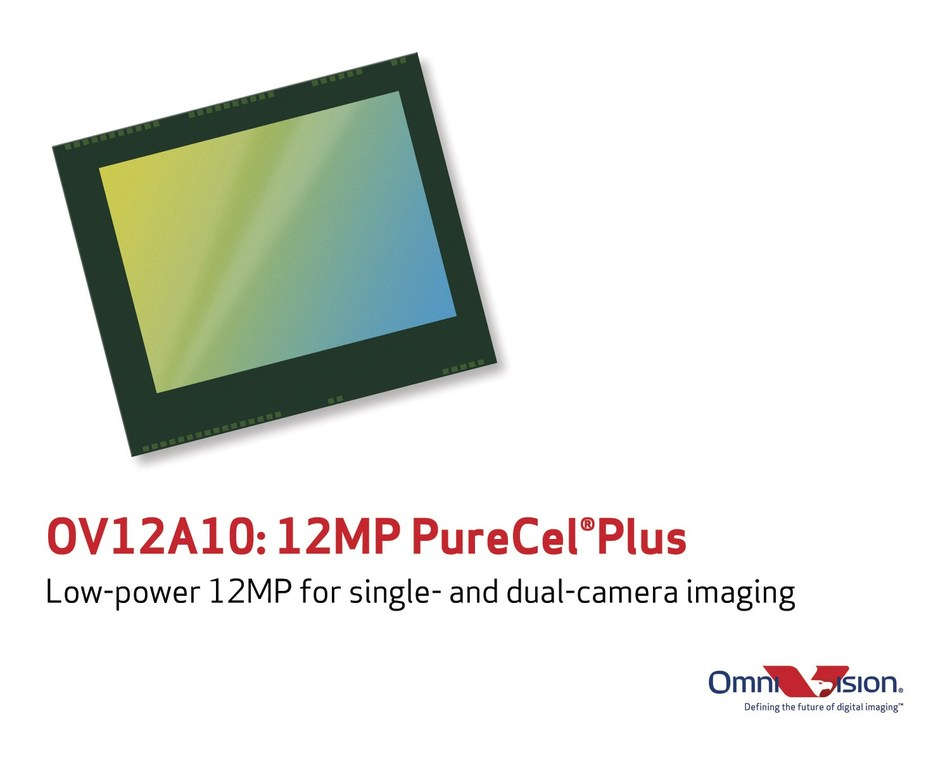 OmniVision's new low-power, 12-megapixel image sensor for single- and dual-camera imaging.
