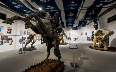 The Wuzhen International Project of Future Visual Arts presents Weta Workshop's more than 20 years of works (PRNewsFoto/Culture Wuzhen Co., Ltd.)