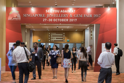 The fifth edition of Singapore Jewellery & Gem Fair is scheduled to be held from 27 to 30 October 2017